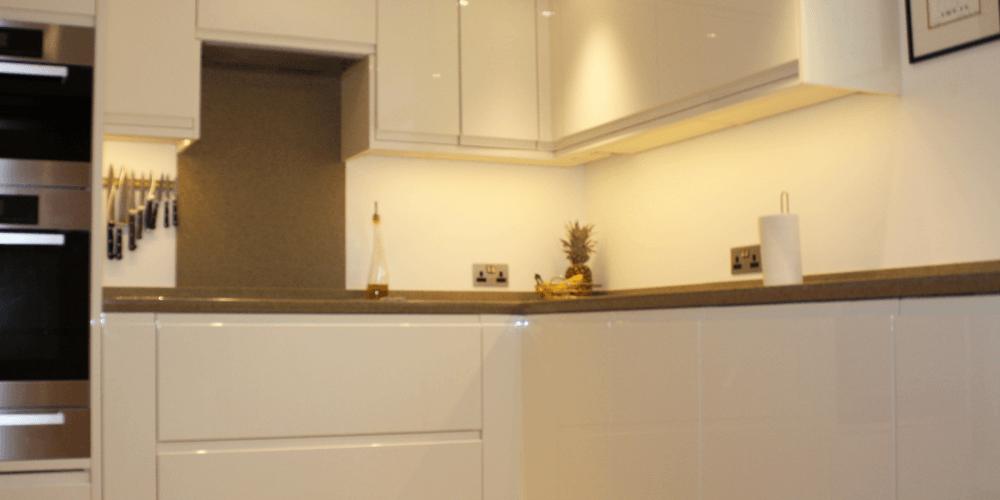 Alabaster Gloss Remo Kitchen