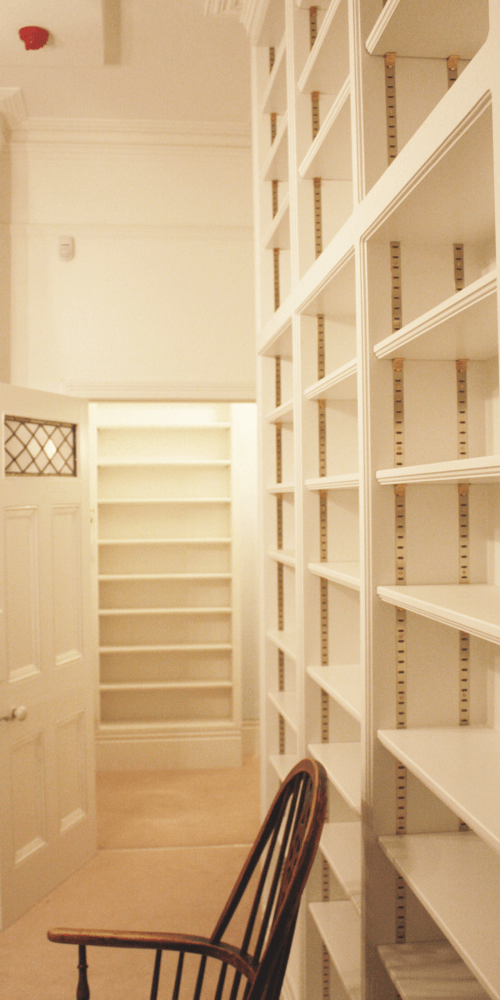 Private Library painted