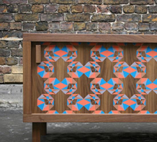 DesignBark Sideboard, Walnut